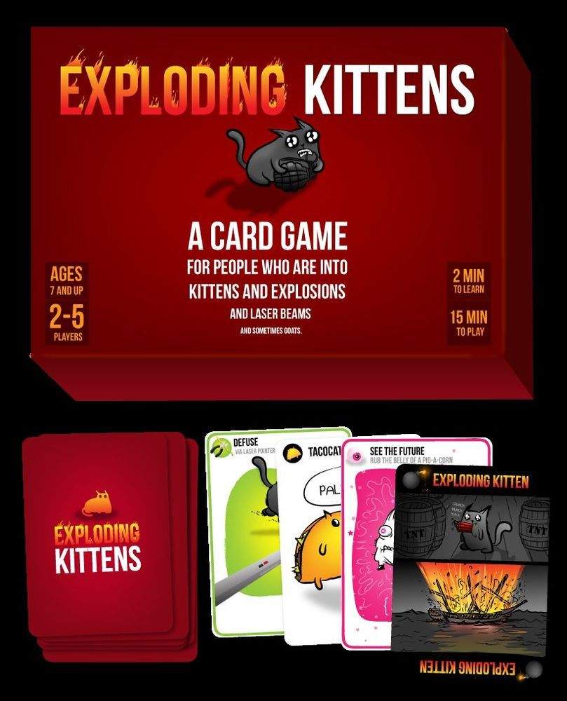 A Card Game About Kittens And Explosions And Sometimes Goats