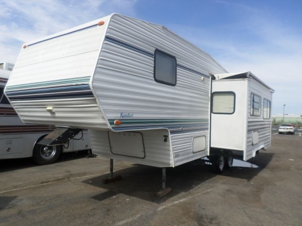 Rv For Sale 1997 Thor Komfort 5th Wheel 26ft In Lodi Stockton Ca Rv For Sale 5th Wheels Used Rv For Sale