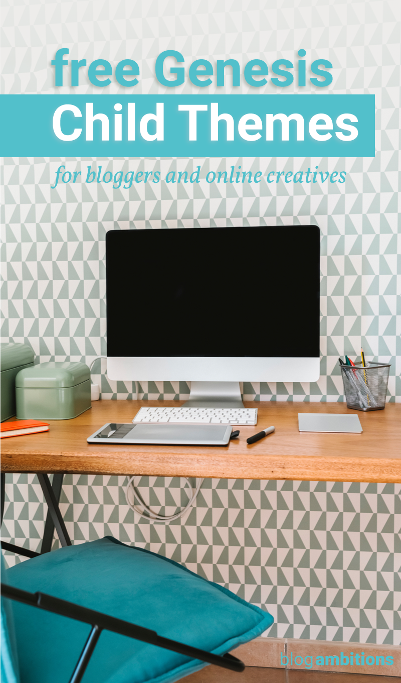 Check out these beautiful and free child themes for bloggers.