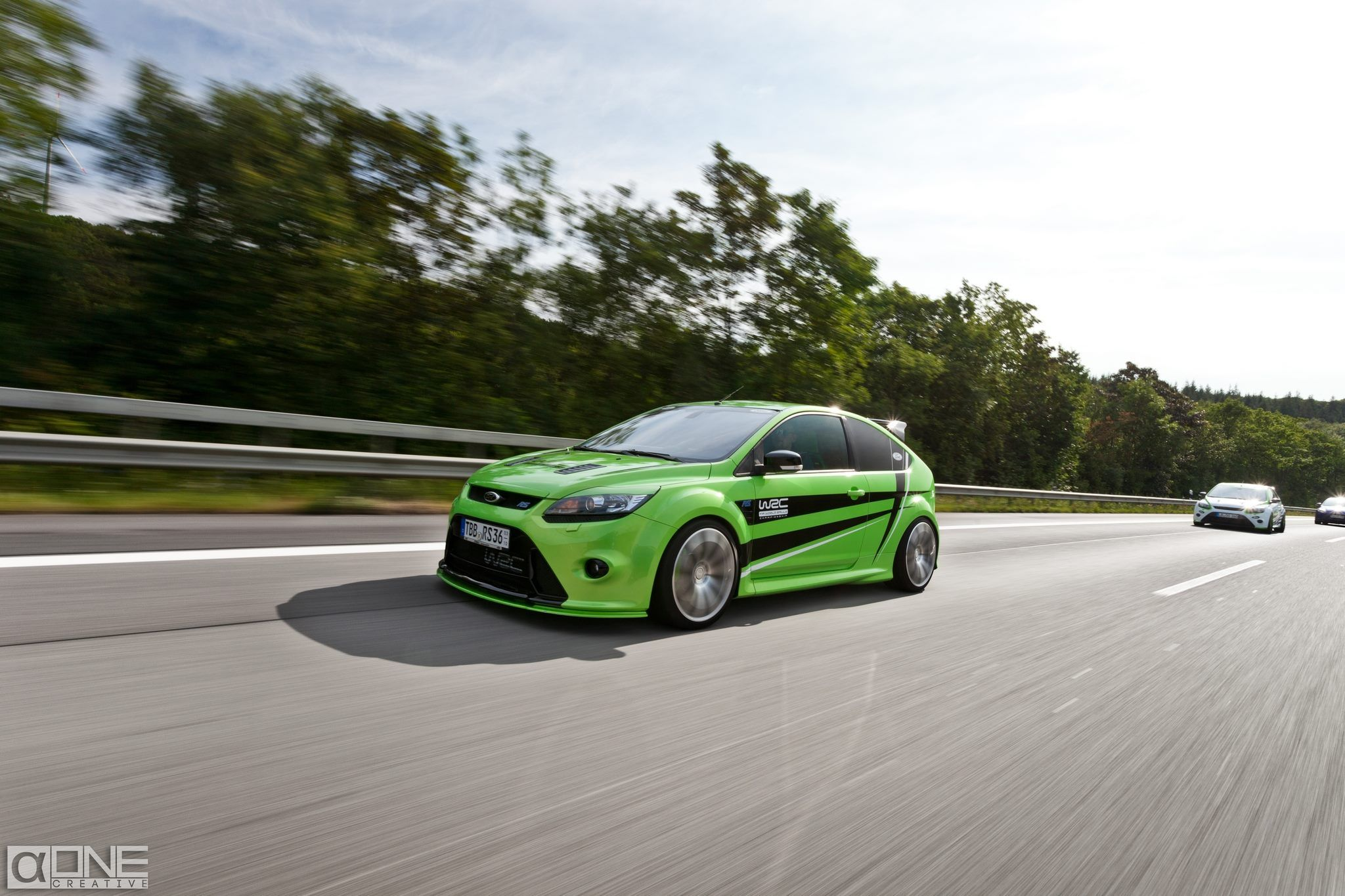 ultimate green ford focus rs mk2 tuning ford focus rs ford focus ford motorsport i ford. Black Bedroom Furniture Sets. Home Design Ideas