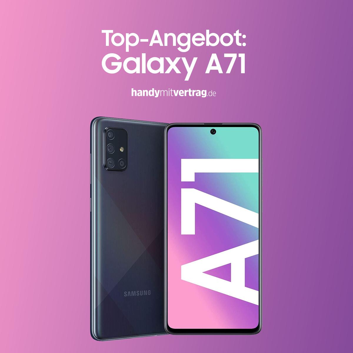 Aktuell Gibt Es Das Beliebte Samsung Galaxy A71 Mit Vertrag Zu Einem Gunstigen Preis Und Das Beste Die Galaxy Buds Gib In 2020 Samsung Handy Handyvertrag Handy Check