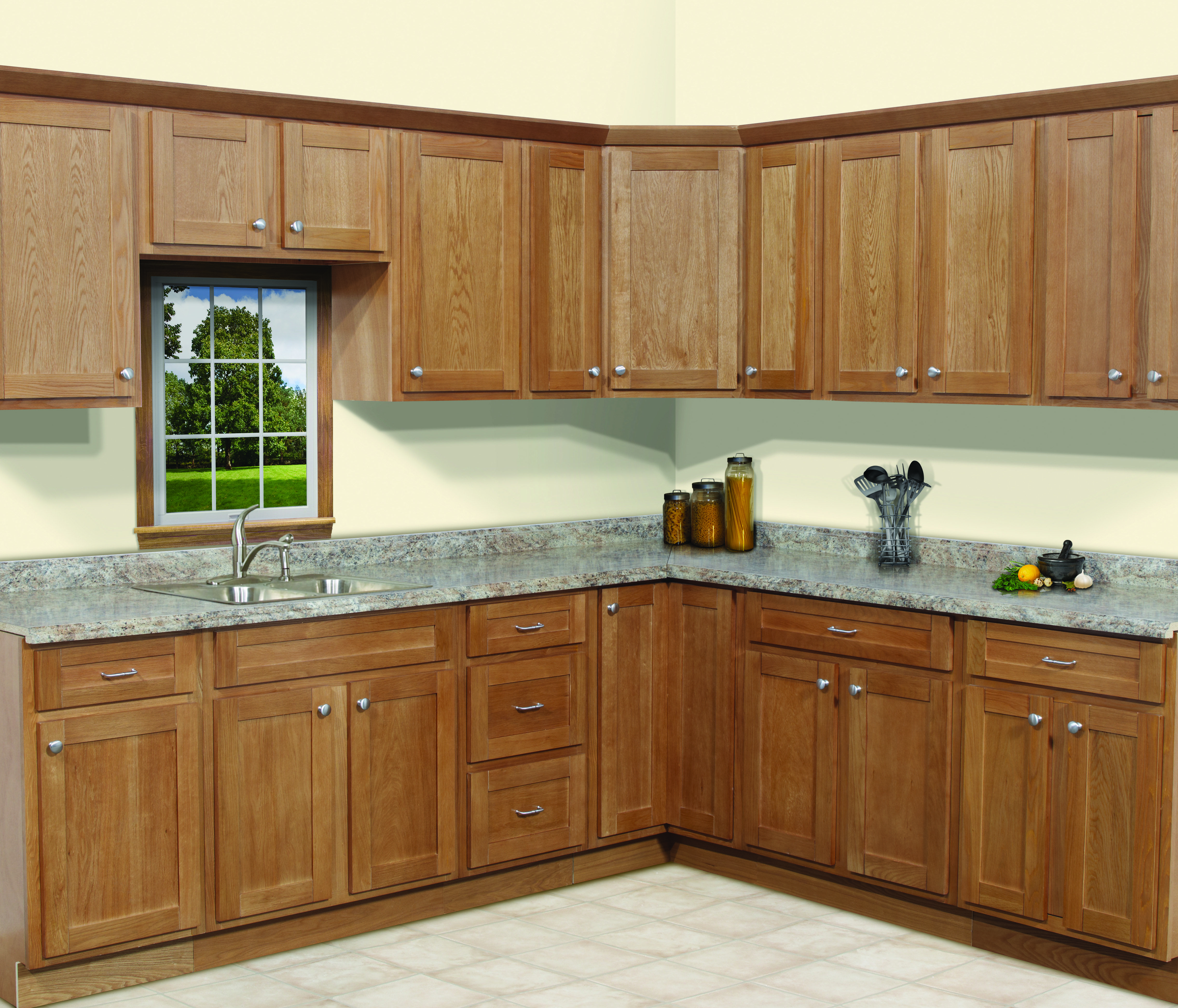 Traditional Overlay With Shaker Door Style Shaker Style ...