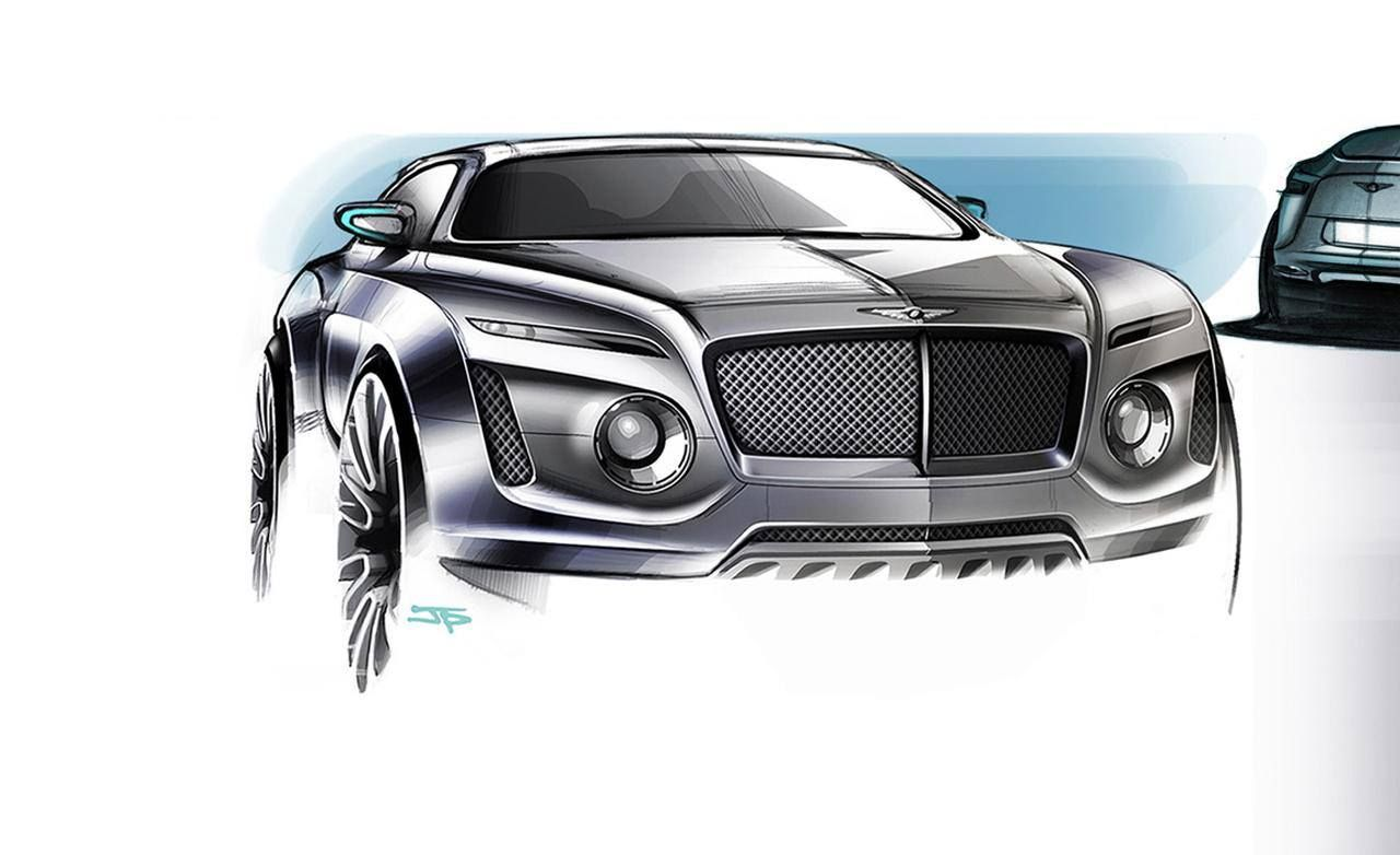Bentley Suv Vehicle Concept Render Pinterest Bentley