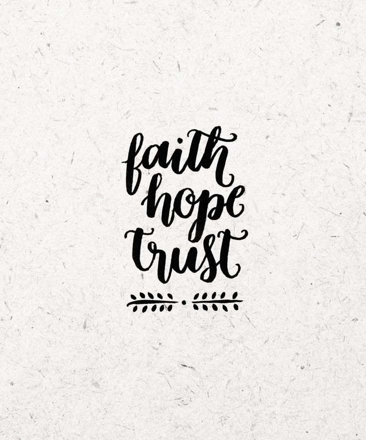 Help for the Philippines: Faith. Hope. Trust. - happy hands project using the Tombow pen.