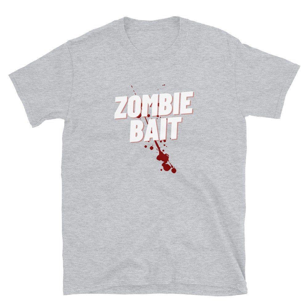 Zombie Bait Funny Zombies Movie Short Sleeve Unisex T Shirt Etsy In 2021 Funny Zombie Movies Shirts Slogan Shirts