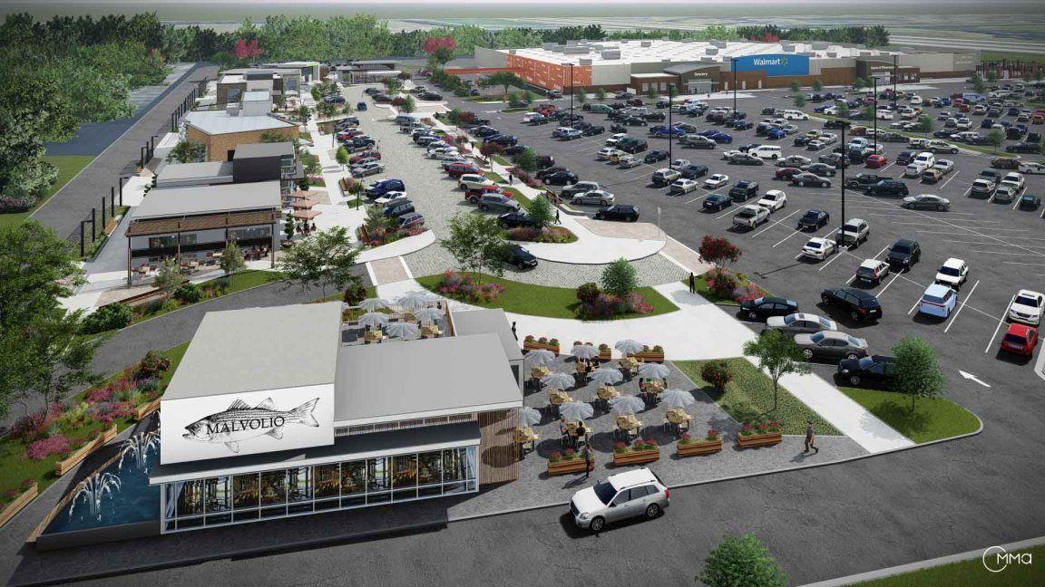 Walmart Lees Summit Mo 2018 0808 8 Strip Mall Walmart Shopping Center