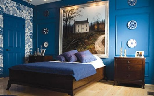 Bedroom paint ideas cute blue bedroom wall idp interior design
