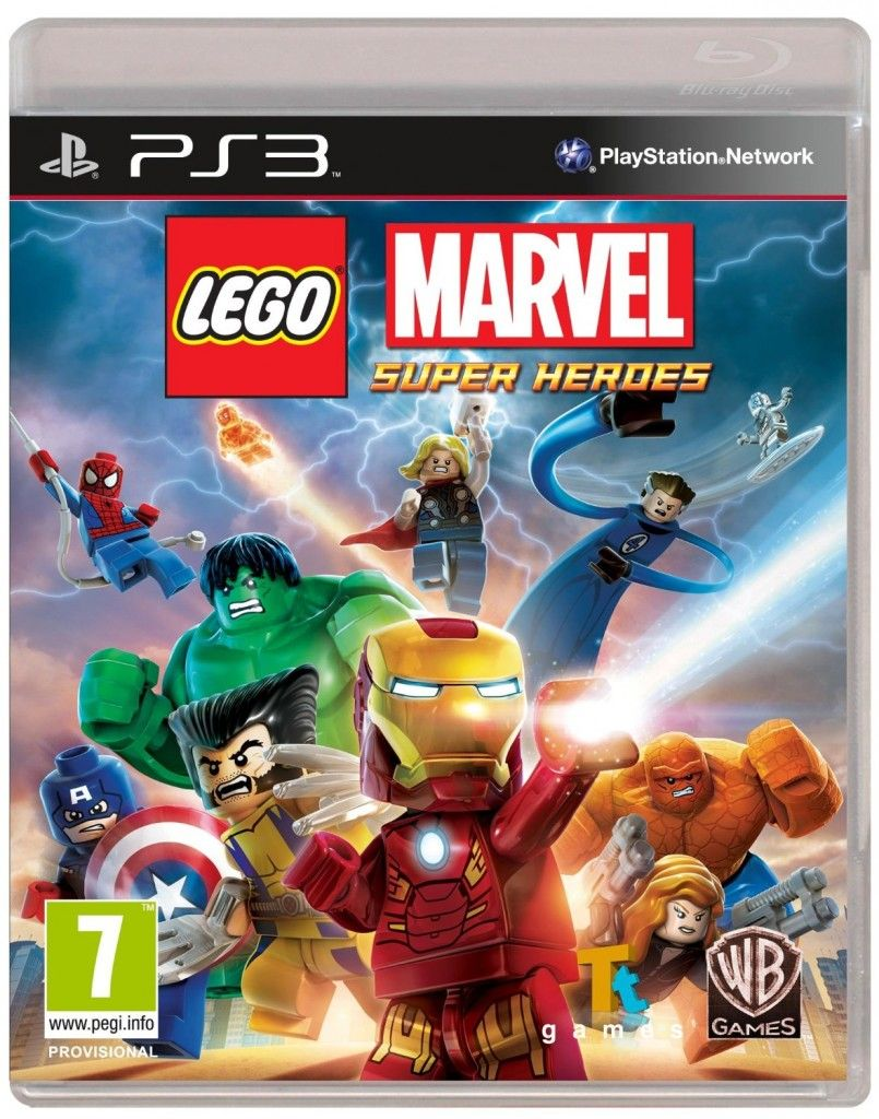 Lego Marvel Avengers Ps3 Usa Espanol Game Pc Rip Lego Superheroes Magnificos Marvel Vs Dc Comics