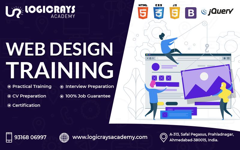 Web Designing Training In Ahmadabad Web Design Training Web Design Train