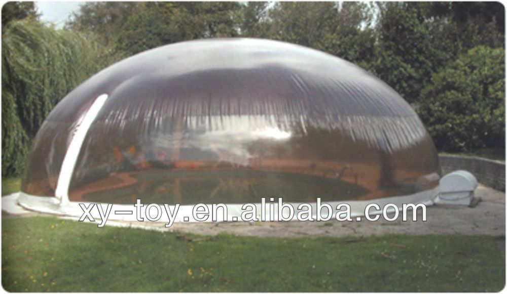 Customized Transparent Inflatable Pool Dome Inflatable Transparent Tent Inflatable Clear Tent