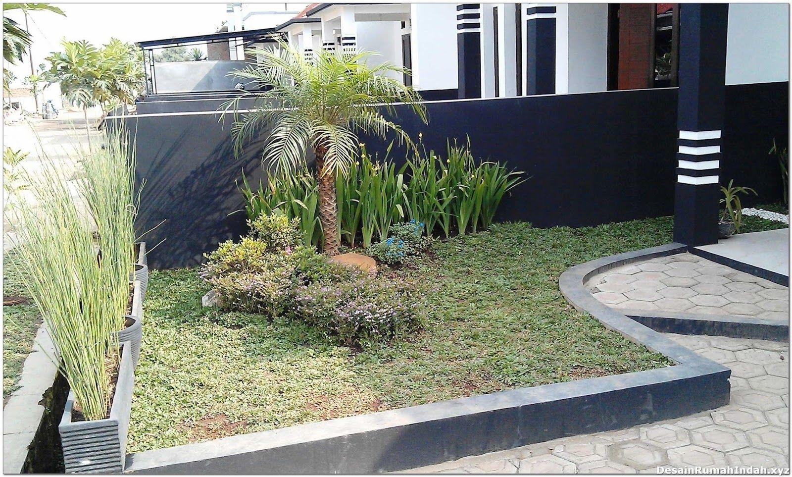 Desain Taman Sederhana Untuk Rumah Minimalis Modern Desain Taman