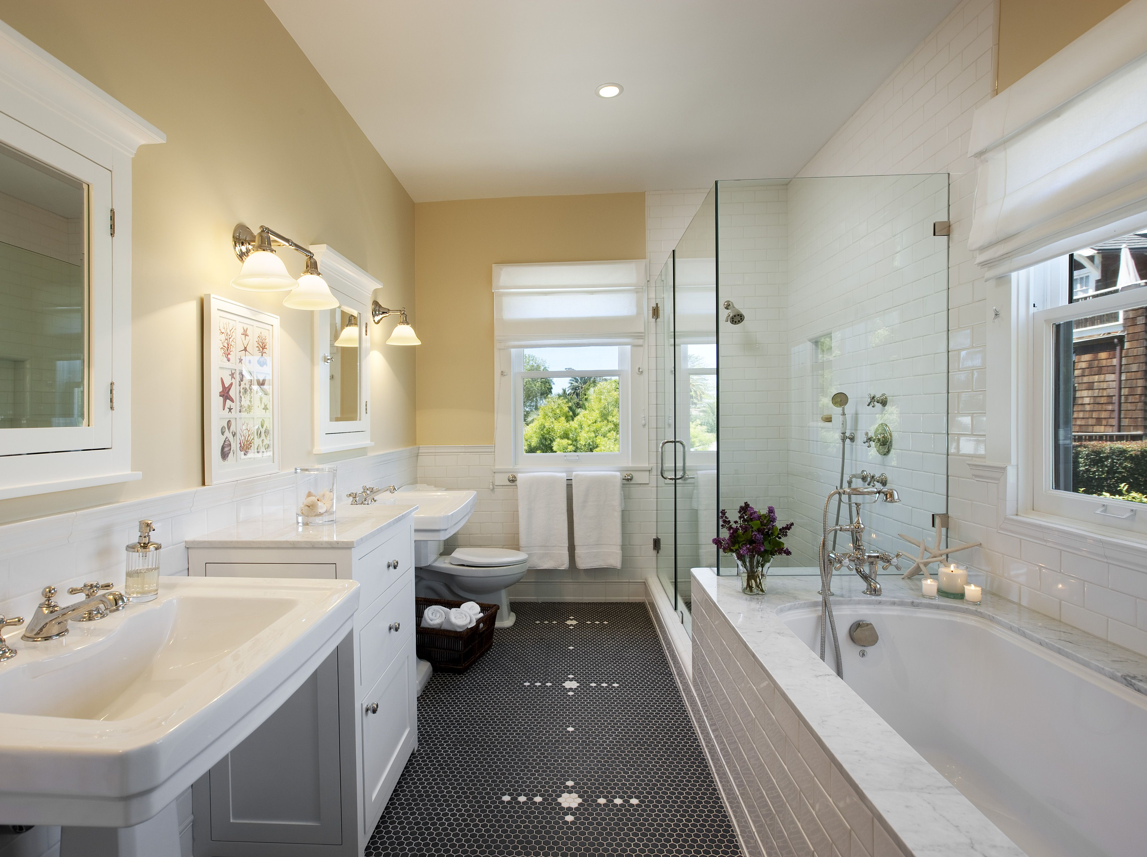 This Beautiful Bathroom Was Part Of The Second Story