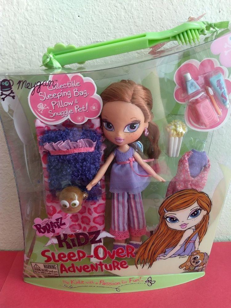 Girlz Girl Bratz Kidz Kid Sleep Over Adventure Meygan Doll