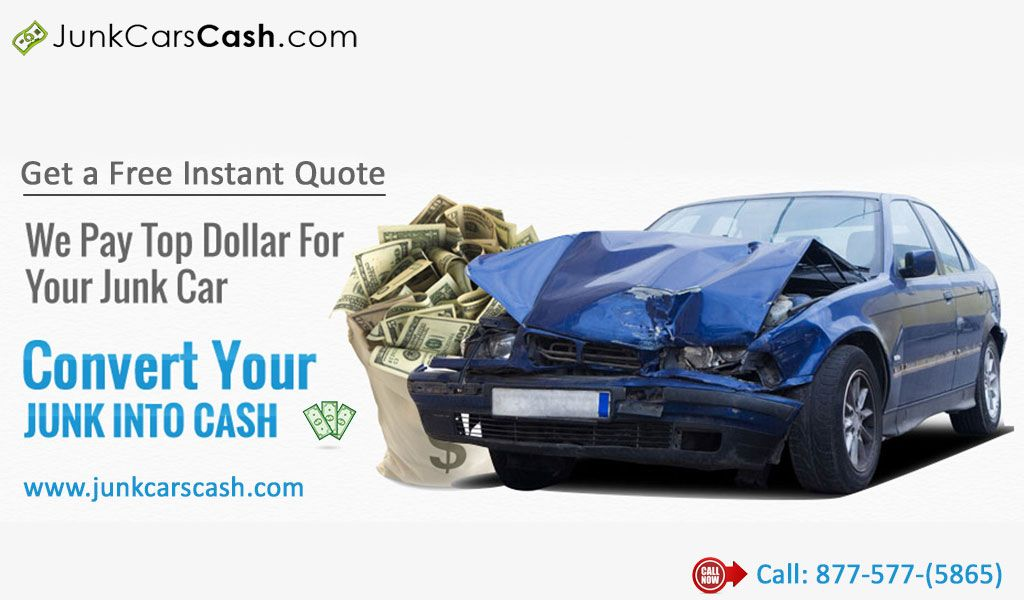 Junk Cars Cash is the reliable scrap yard which pays top cash for ...