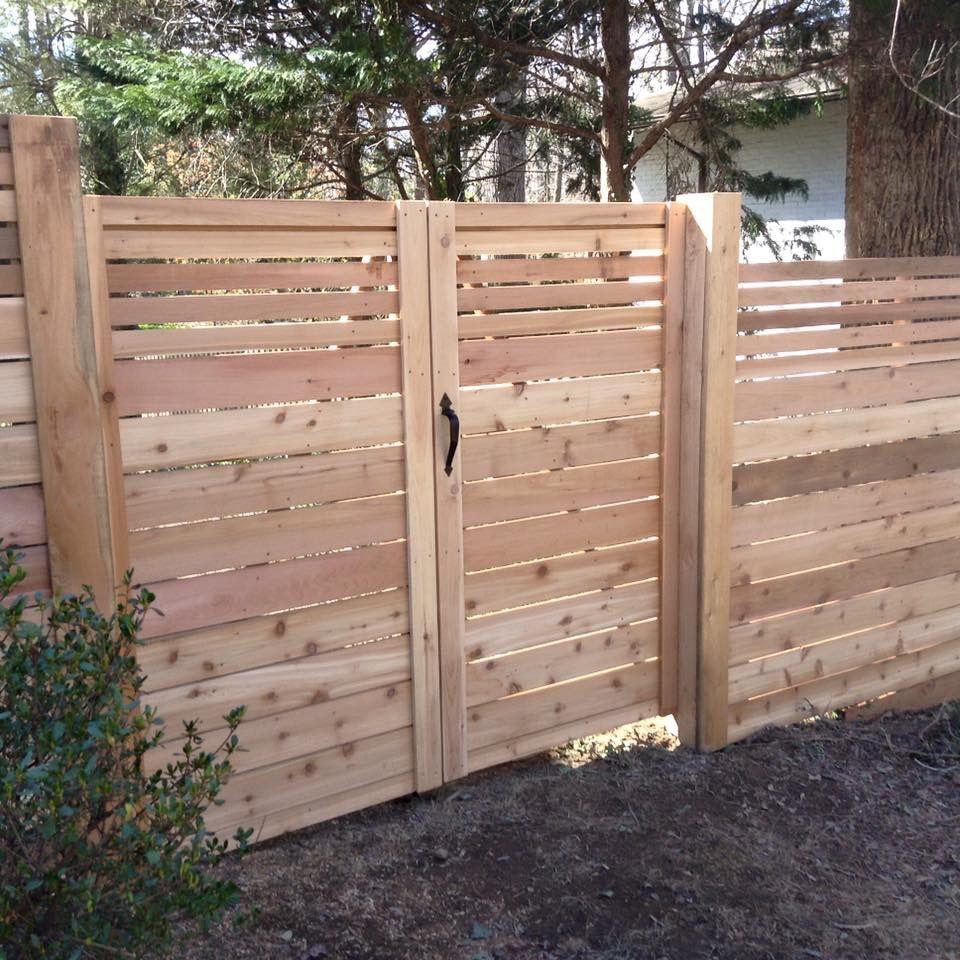 Horizontal Board Fence Gate Lions Fence Fence Gate Design Fence Design Wood Fence Gates