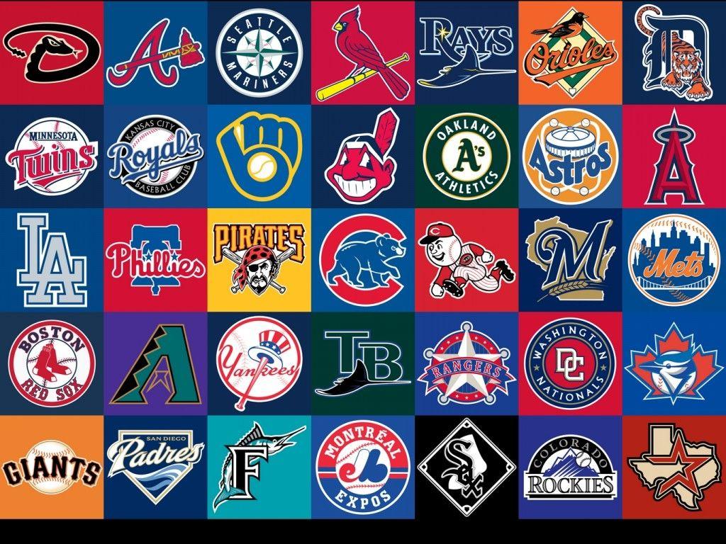 Majorleague Baseball Team Logos Baseball Teams Logo Mlb Logos Mlb Teams