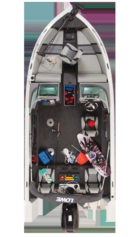 Fs175 Overhead Closed Lowe Boat 175 Fish Ski Need Folding Tongue Trailer With Brakes Walleye Boats Fishing Boats Boat