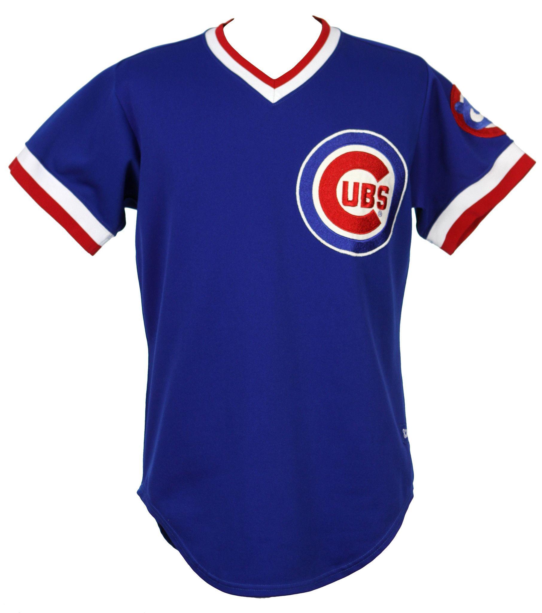 18865a9e7 CHICAGO CUBS 1984 ROAD REPLICA JERSEY-MAJ  ChicagoCubs  Cubs  CubsFans   GoCubs  Chicago