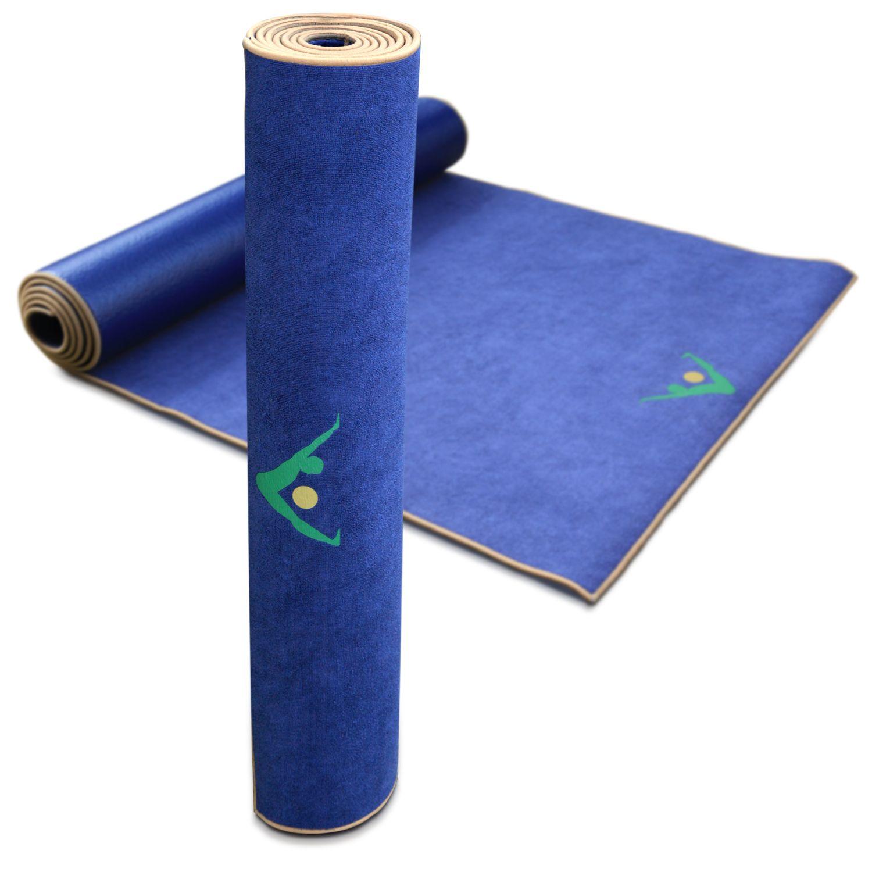 Combo Towel Mat B Wanted: Aurorae Yoga Synergy Yoga Mat-Towel Combination In