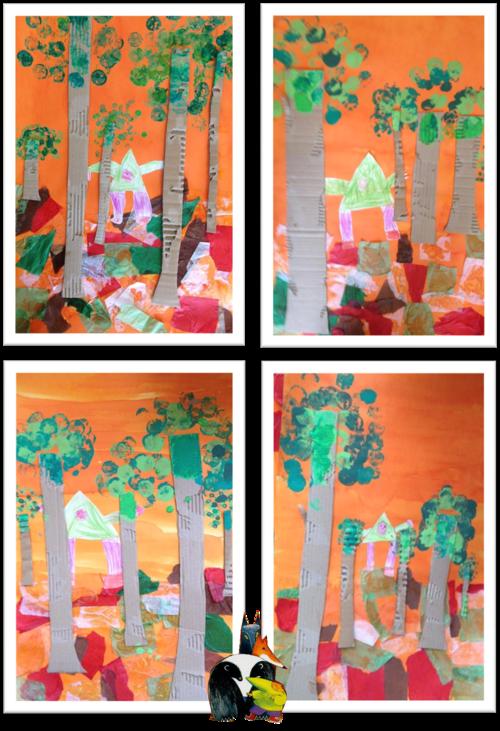 Le Petit Bonhomme Des Bois Maternelle Pinterest