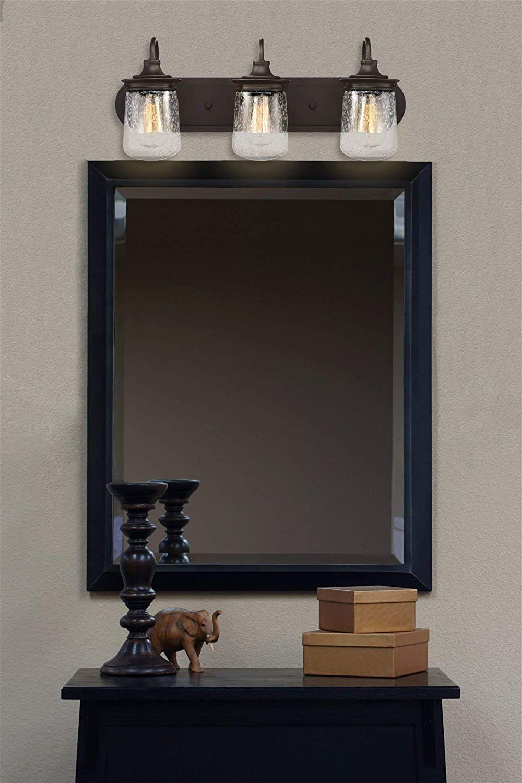 50+ Farmhouse Bathroom Vanity Lights & Rustic Vanity