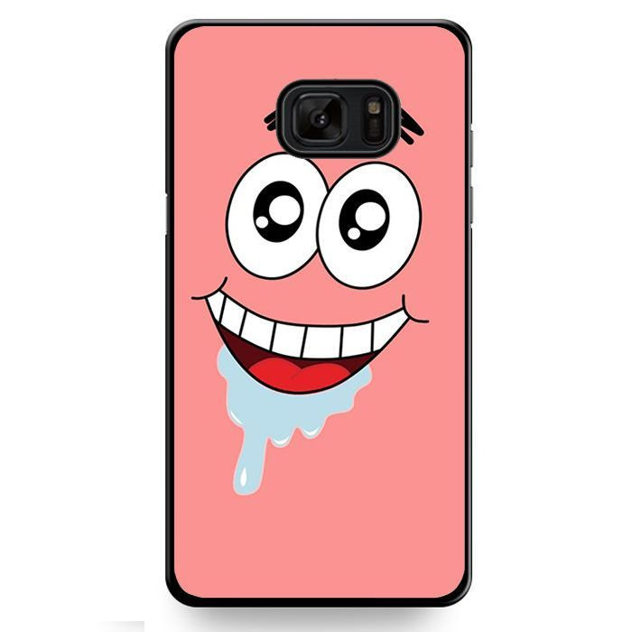 Spongebob Patrick Star Crazy TATUM-9907 Samsung Phonecase Cover For Samsung Galaxy Note 7