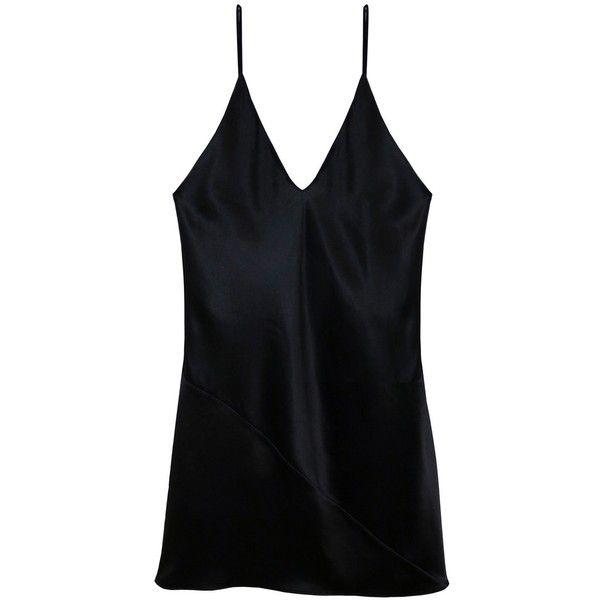 03d24a9593910 Fleur du Mal Mini Slip Dress ($295) ❤ liked on Polyvore featuring dresses,