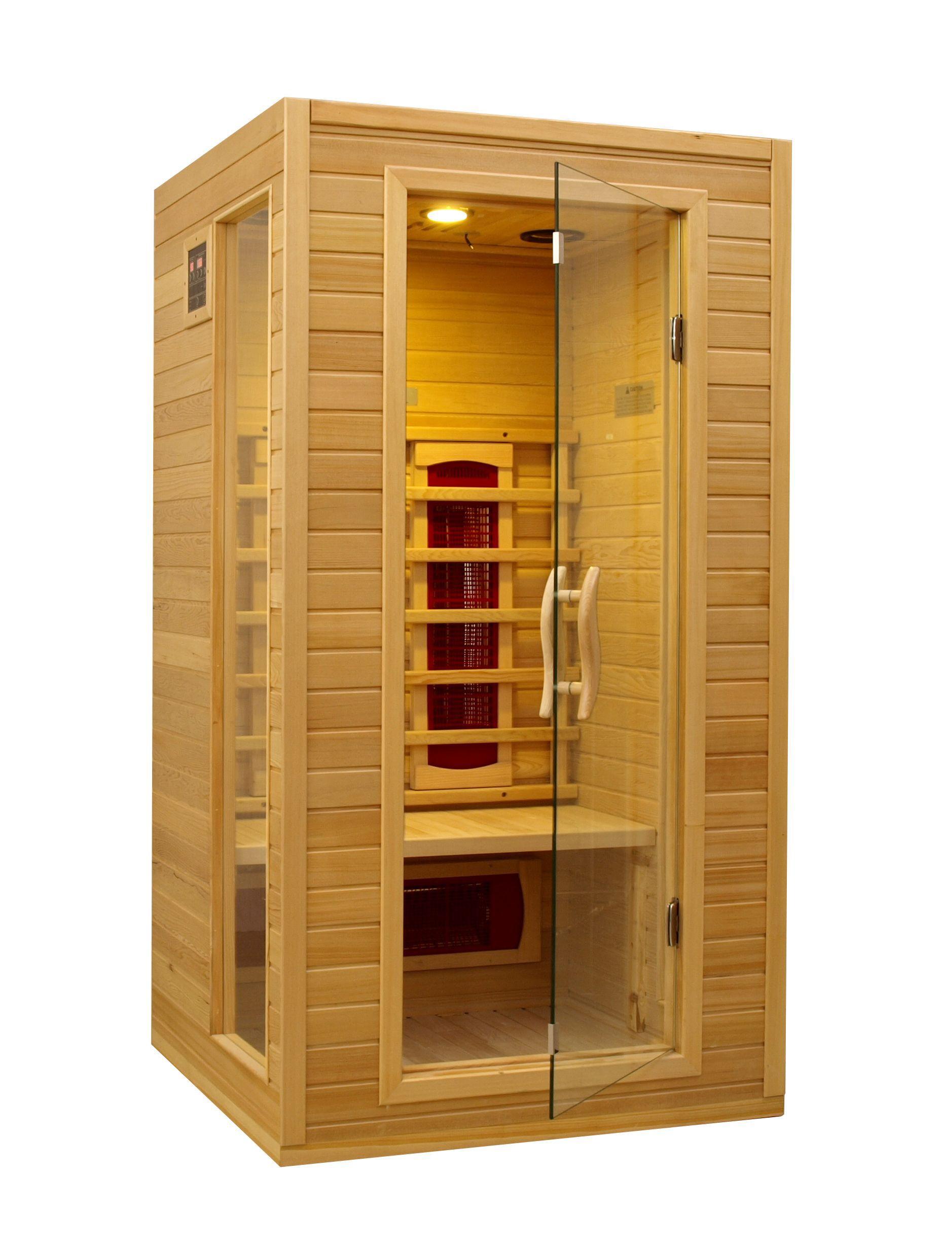 2 Person Ceramic Far Infrared Sauna I Small House