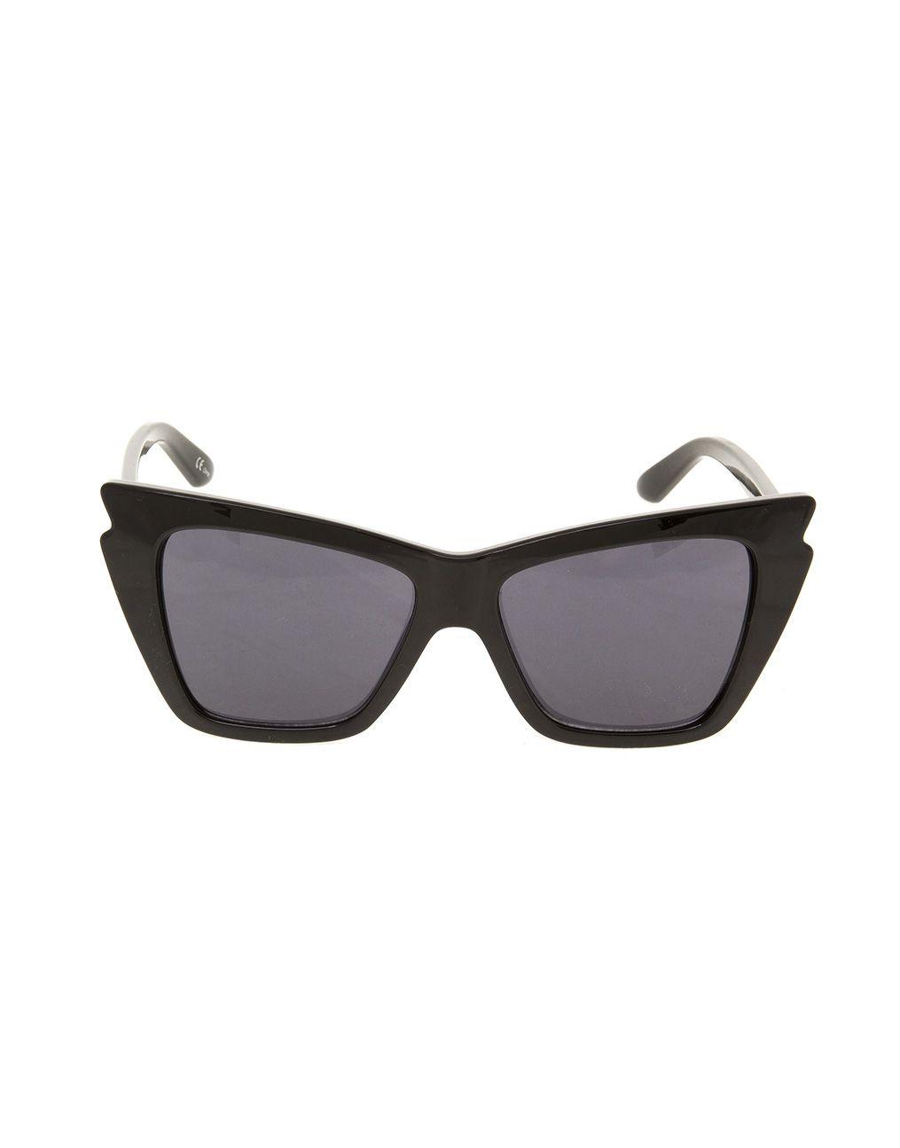 e47803a367c7c Trick or treat  Óculos Le Specs Rapture Black para o look de ...