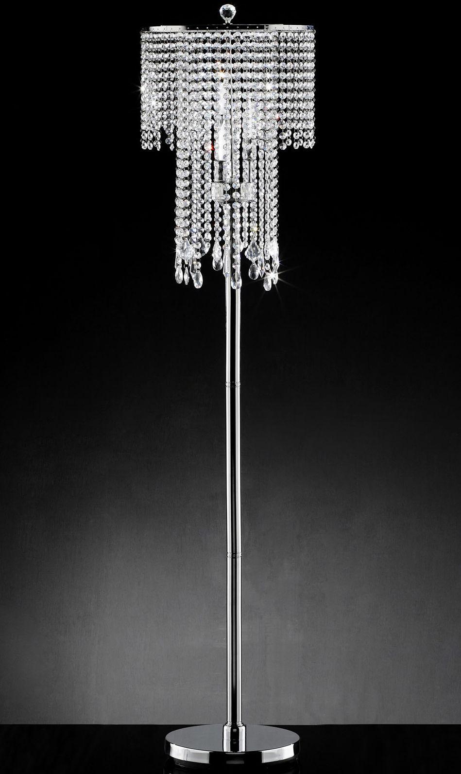 Fantasy Real Crystal Floor Lamp Crystal Floor Lamp Crystal Floor Chandelier Floor Lamp