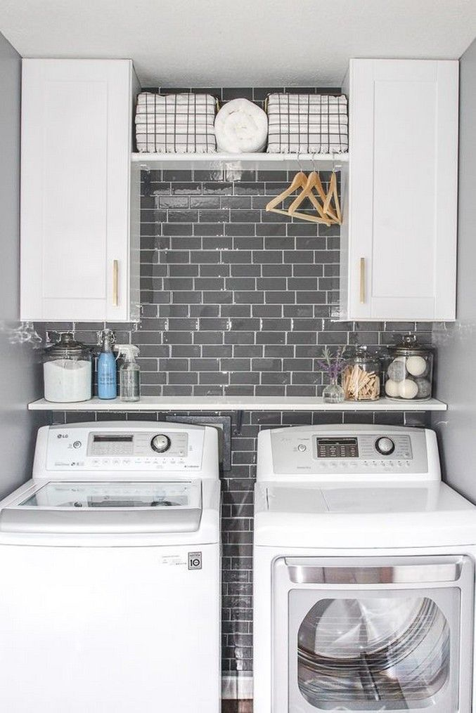 Photo of ✔51 beautiful and simple small laundry room decorating ideas to copy 10 ~ aacmm.com