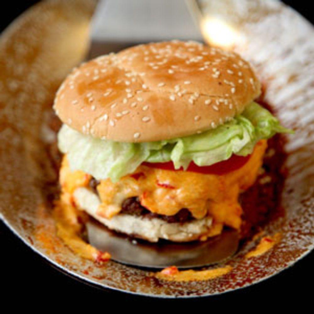 Pimento Cheese Burger Comida Hamburguesas Y Alimentos