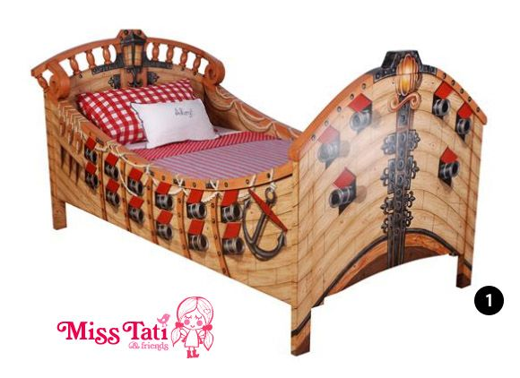 Miss Tati Pirate Bedroom Furniture