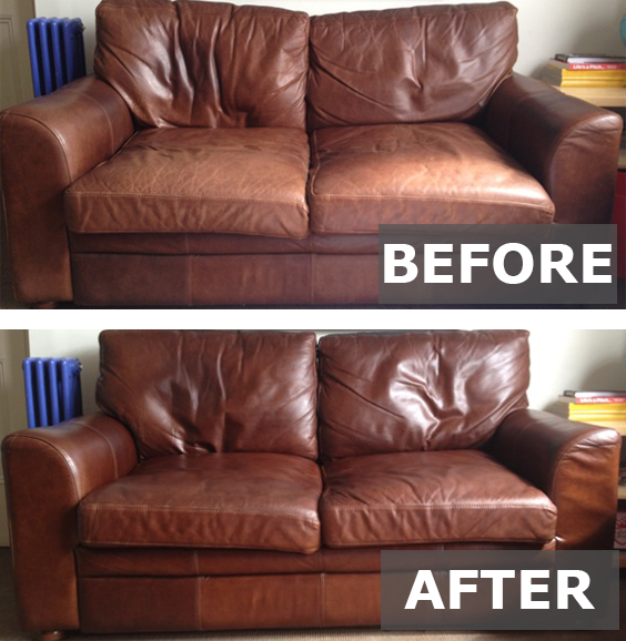 Renapur Used To Revive A Tired Looking Leather Sofa Leathersofa