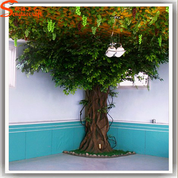 Guangzhou Baiyun New Products Fake Tree Trunk Artificial Tree Wall My Web Value Artificial Tree Branches Artificial Tree Fake Trees