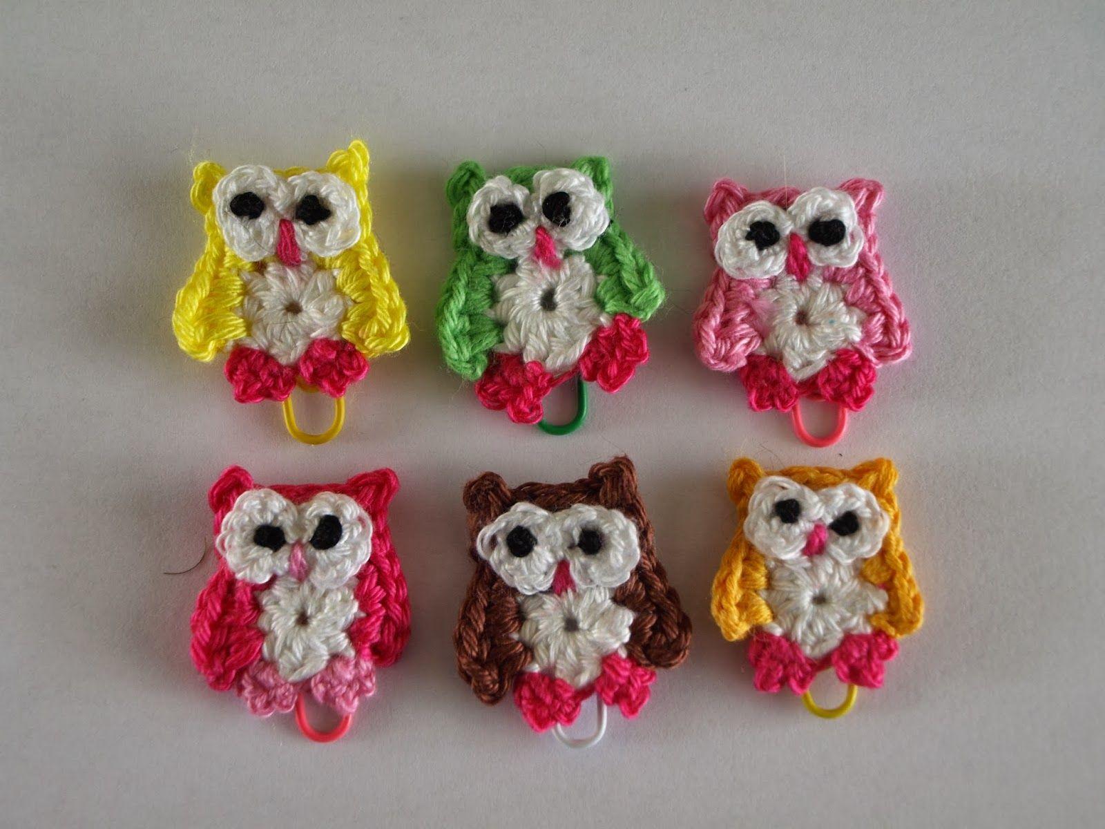 Tutorial Elfi Amigurumi : Elfi jo klein uiltje met patroon crochet appliques
