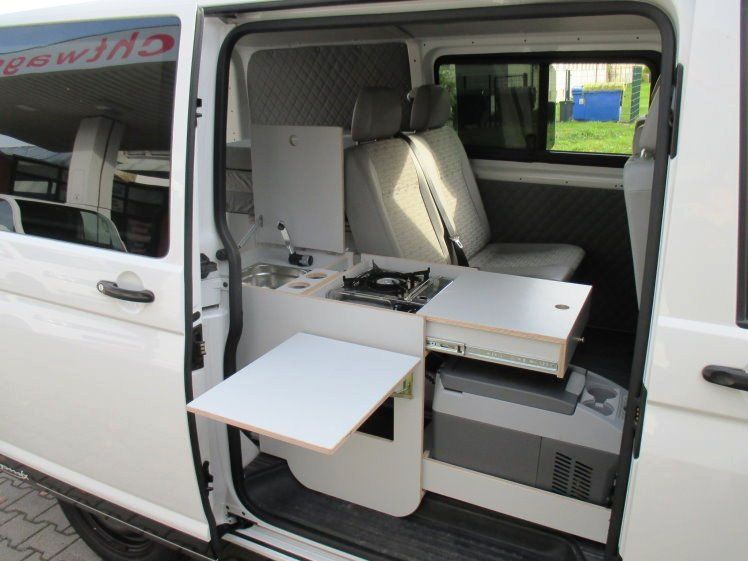 volkswagen t5 campmix womo mixto k che bett lkw kurz top als kastenwagen in gera camper. Black Bedroom Furniture Sets. Home Design Ideas