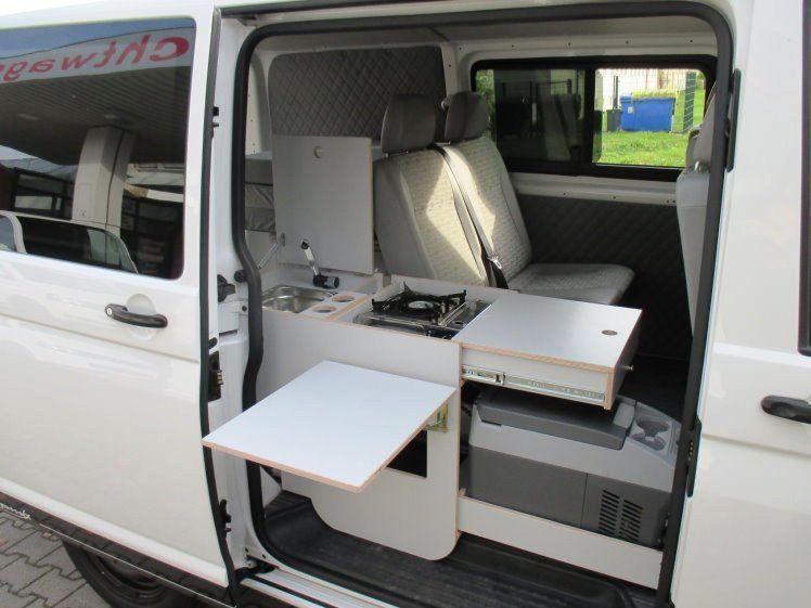 Volkswagen T5 Campmix Womo Mixto Kuche Bett Lkw Kurz Top Als