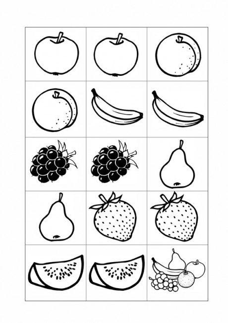Memory Karten Semantisches Feld Obst Sprache Obst Karten Obst Und Gemuse