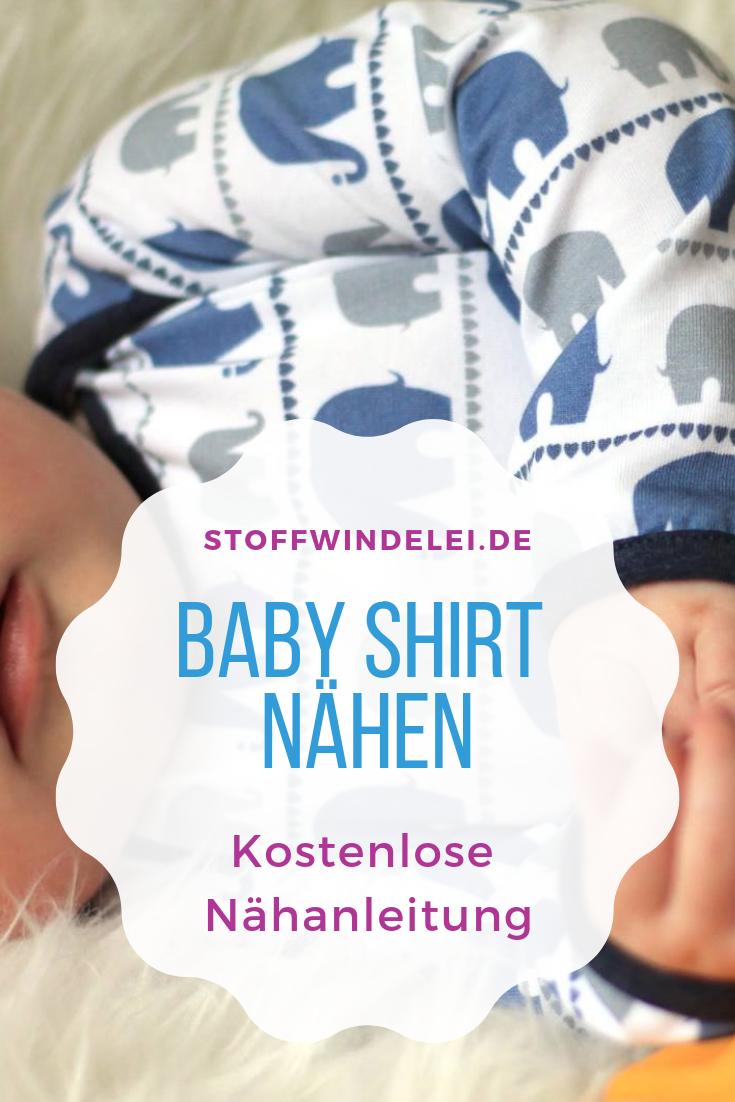 Photo of kostenloses Schnittmuster und Nähanleitung für ein Baby-Shirt 50/56-62/68-74/80-76/92 | Stoffwindelei.de