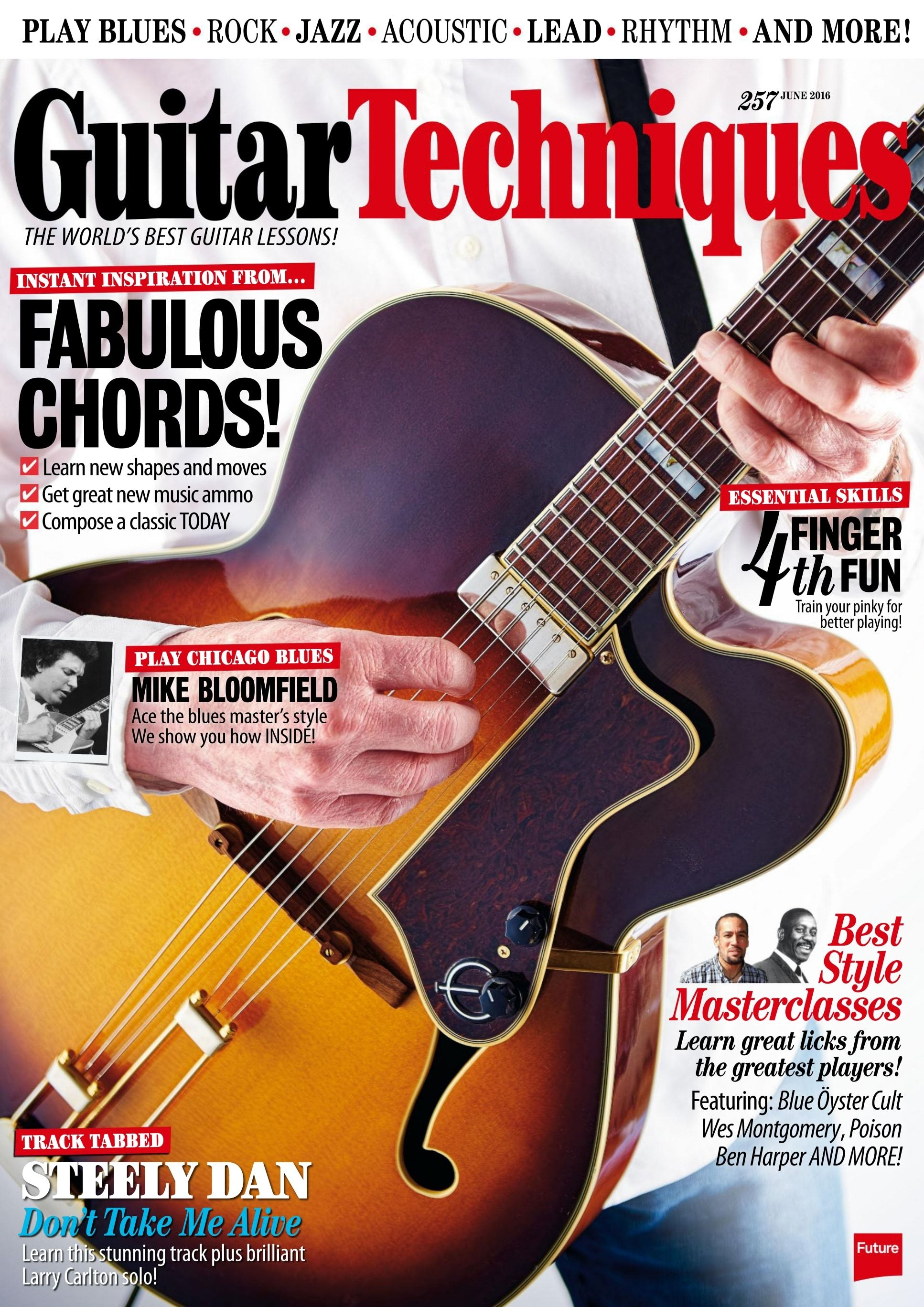 Guitar Techniques Magazine 257 Fabulous Chords Essential Skills
