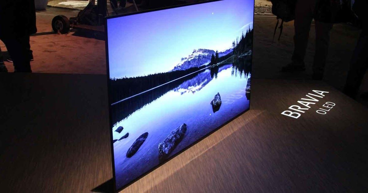 By Nicholas Pay Sony Bravia Oled A1 Led By Lg Oled Technology Is