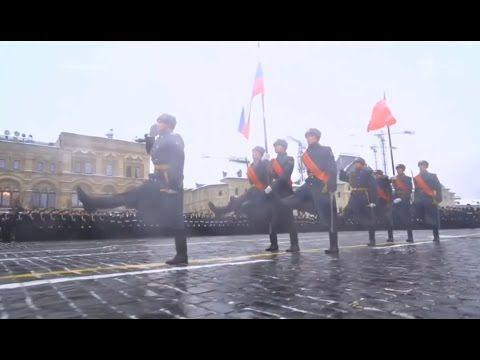 75 anos do desfile do Exército Vermelho na Segunda Guerra Mundial