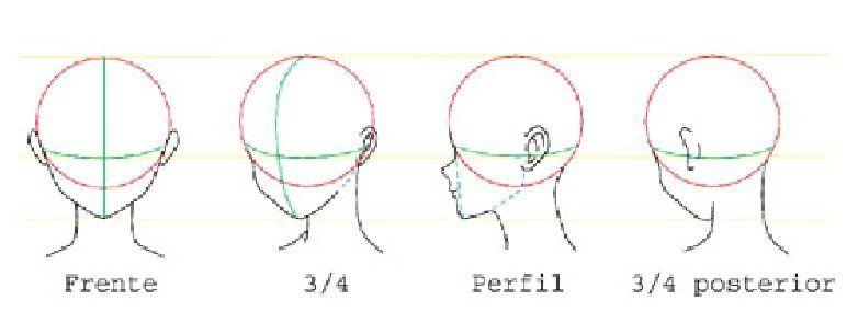 Pin De Dei En Cabeza Angulos Expresiones Pasos Para Dibujar Rostros Como Dibujar Animes Aprender A Dibujar Anime