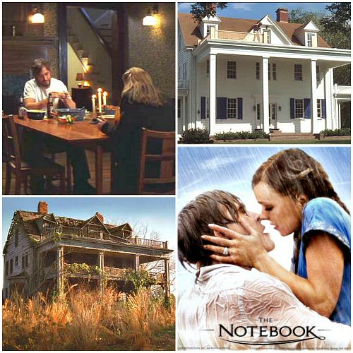 The Houses And Filming Locations From The Movie The Notebook Hooked On Houses Nicholas Sparks Movies Sparks Movies The Time Traveler S Wife