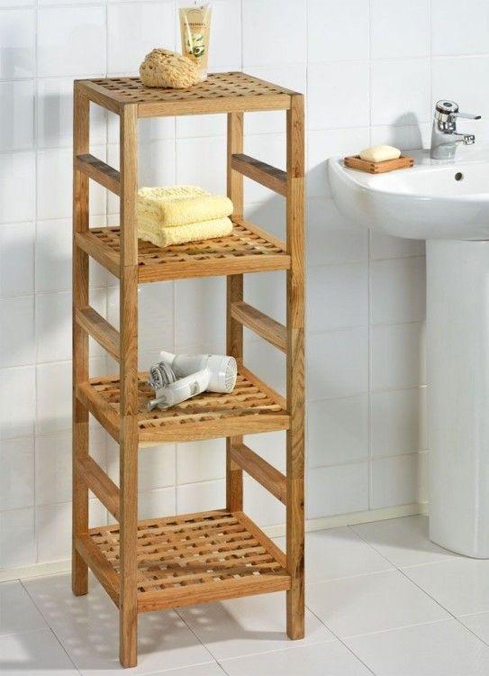 Bad Wohnhocker Nordic 4 Ablageflachen Home24 Wc Regal Regal Holz Badezimmer Zubehor