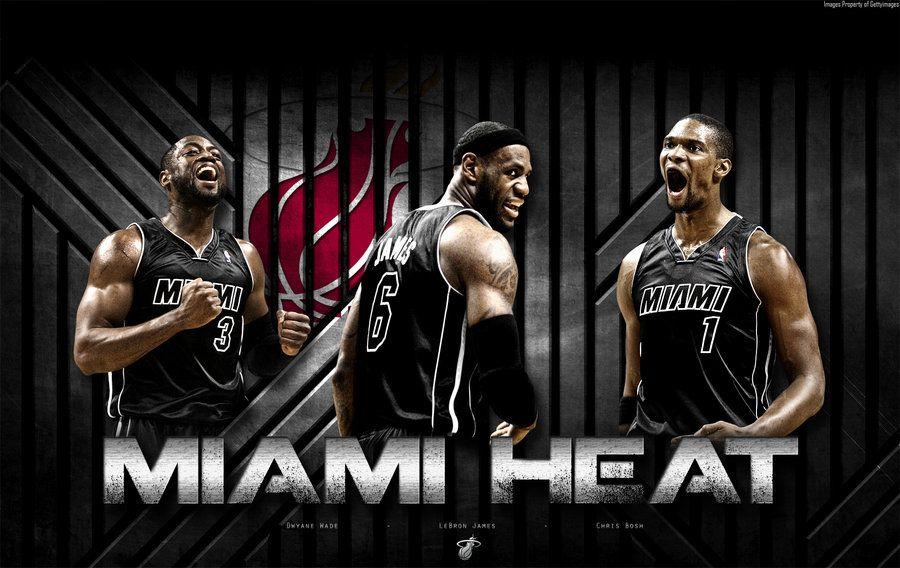 Miami Heat Wallpaper By Rhurst Deviantart Com On Deviantart Miami Heat Miami Heat Basketball Miami