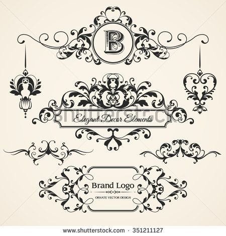 All free download 85 Free vintage ornaments vector pack Includes - certificate borders free download