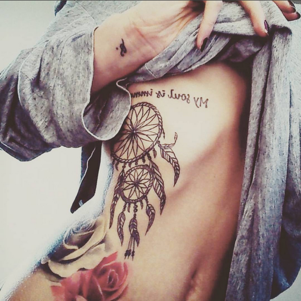 amazing dream catcher tattoo #ink #YouQueen #girly ...
