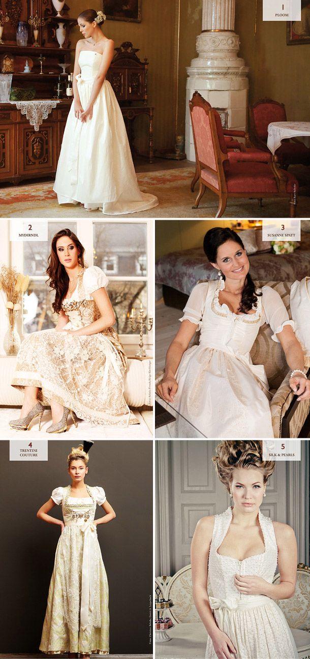 Die neuesten Dirndl-Brautkleid Trends aus dem Dirndl Magazine ...